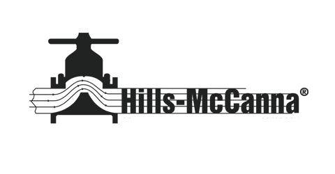 Hills-McCanna Logo in grey