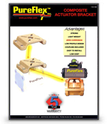 Composite Actuator Bracket